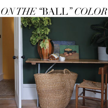 NATURAL INSPIRATION – Farrow & Ball's new colors by nature.