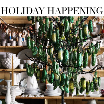 A GOOD FEELING – John Derian's Glorious Holiday Ornaments.