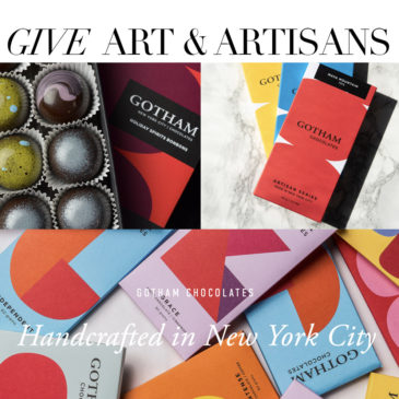 THE GIFT LIST – Give Artists and Artisans! 24 gifts for the holiday season.