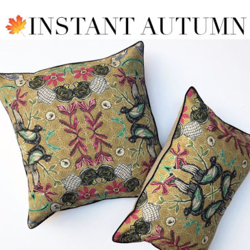 I SHOP FOR YOU – 3 ways to bring autumn into your home: Part 2 – Cozy Accessories.