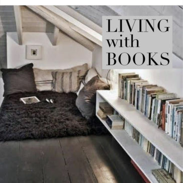 LIVING WITH BOOKS in the country.