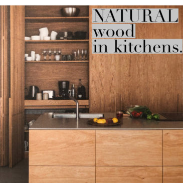 LUXURY RURAL KITCHENS with natural wood.